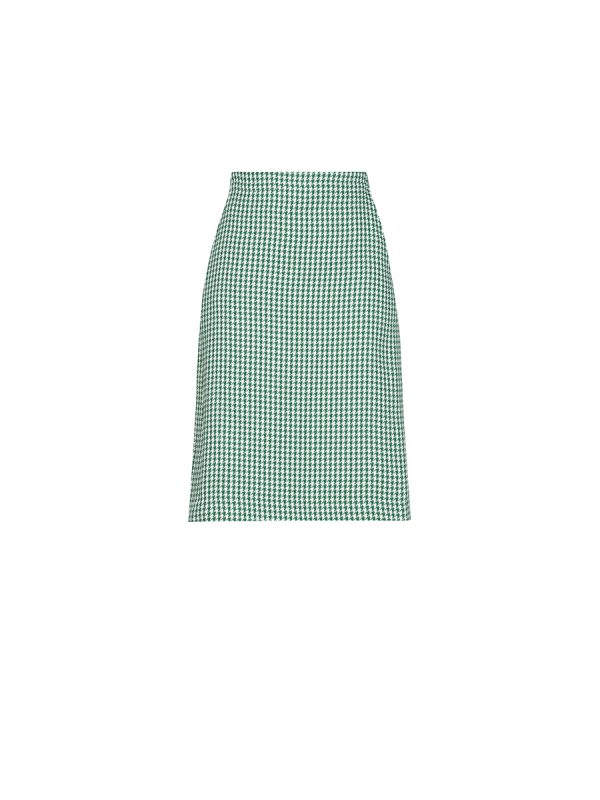 Houndtooth Skirt SK-L180209